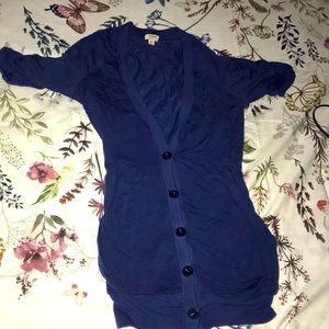 Wilfred blue short sleeve XXS cardigan